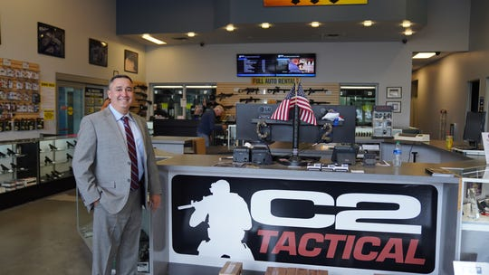 Vincent Vasquez is the owner of C2 Tactical.