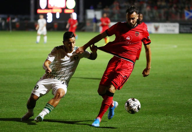 Phoenix Rising FC forward Rufat
