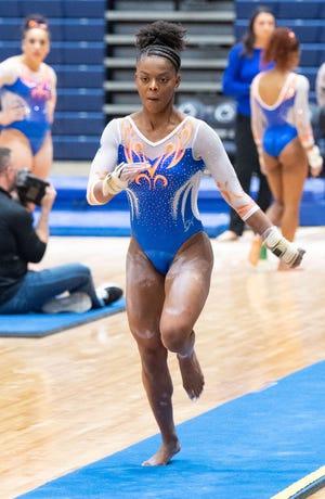 Florida gymnast Trinity Thomas.