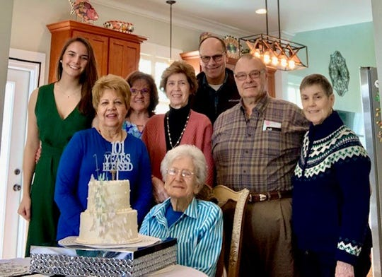 Marie Bradley celebrated her 101st birthday with her family on Feb. 23.