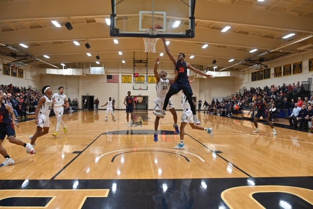 Fifth-seeded COS stormed back from a 21-point halftime deficit to rally past No. 4 Yuba 71-69 on March 7 in Marysville to punch its ticket into the California Community College Athletic Association's Elite Eight state championship tournament.