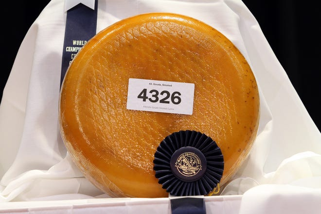 Marieke Gouda smoked gouda was one of 20 finalists in the World Championship Cheese Contest on March 5, 2020, in Madison.