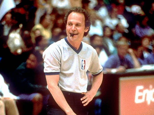 "Billy Crystal stars as quick-witted NBA referee Mickey Gordon in the romantic comedy ""Forget Paris."""