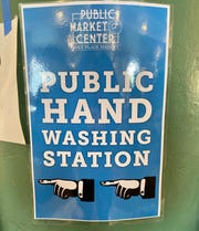 Managers of the Pike Place Market have opened up sinks for use as public hand-washing stations during the coronavirus outbreak.