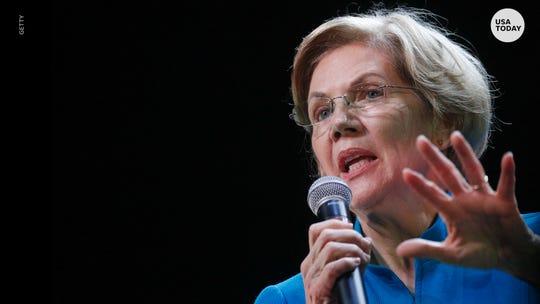 Elizabeth Warren crashes 'SNL' sketch after ending her campaign