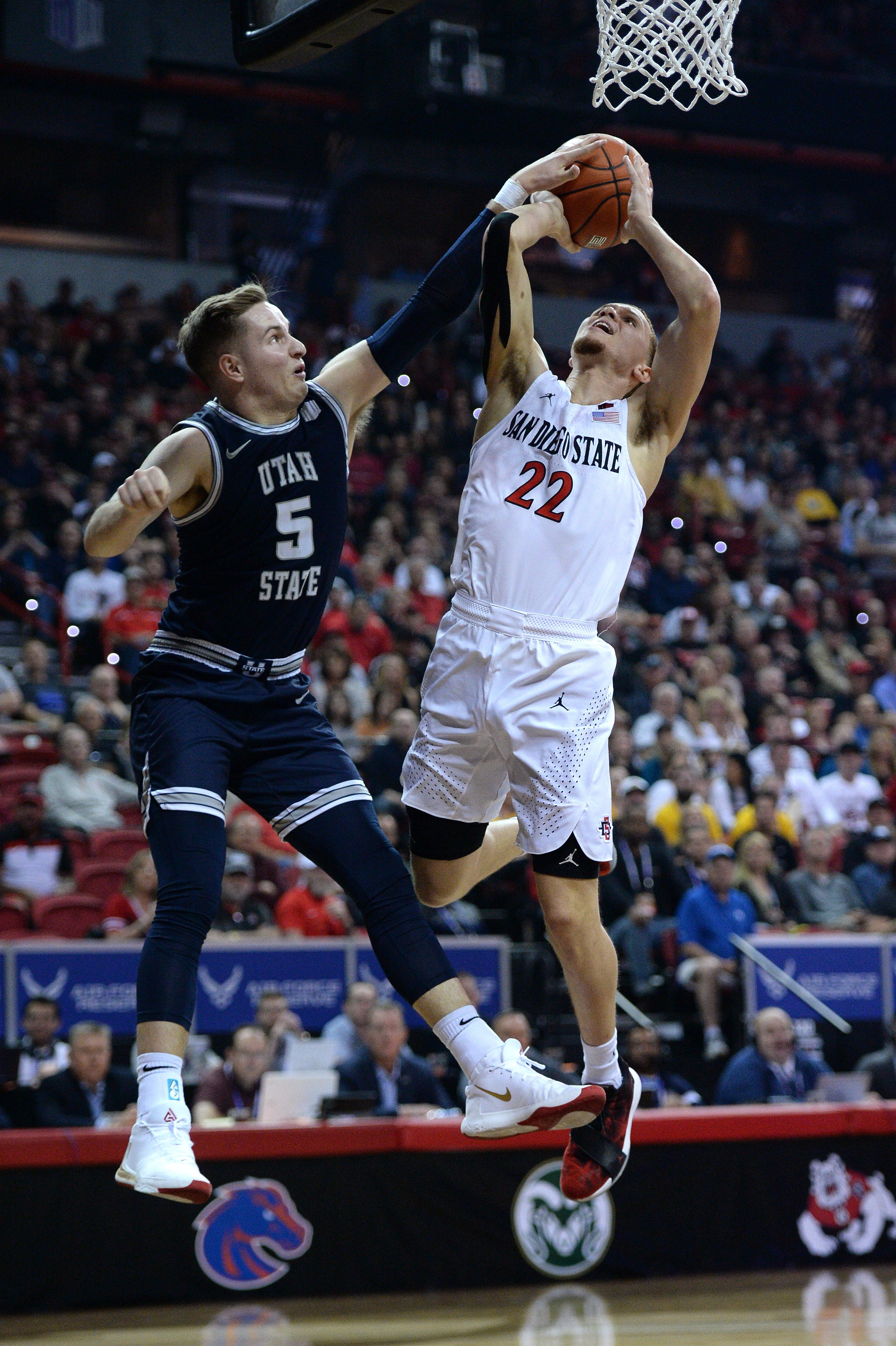 College basketball s winners and losers: San Diego State and Baylor stumble, Duke rises