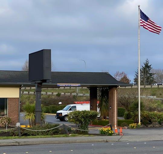 The King County Health Department bought this 85-bed EconoLodge hotel in suburban Seattle to use as a coronavirus quarantine facility.