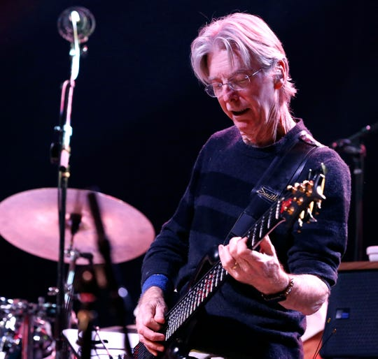 Phil Lesh, pictured with the Terrapin Family Band perform on stage at Convention Hall on the Asbury Park Boardwalk in Asbury Park, New Jersey on Oct. 26, 2017.