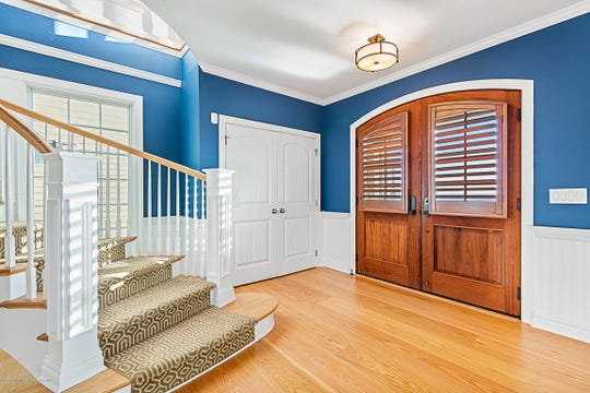 The open layout offers tons of natural light.