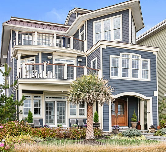 Beyond custom in this magnificent Belmar home at 1302 Ocean Ave.