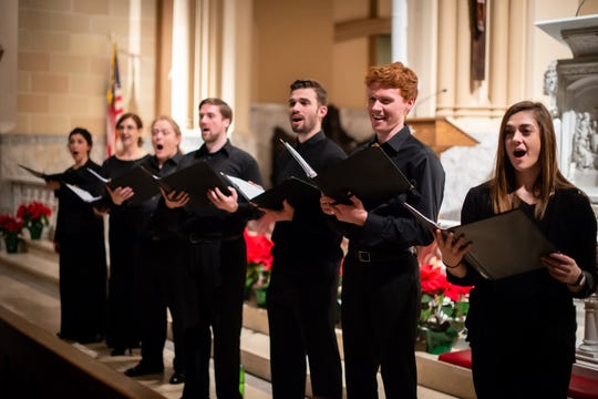 The Southern Tier Singers' Collective, directed by William Culverhouse, will sing a Gregorian chant fromLa Crocetta, a 500-year-old manuscript recently acquired by Binghmaton University Libraries,in a concert Saturday evening.
