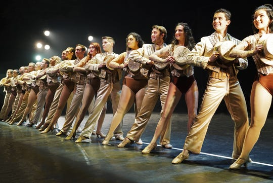 """Although the Henegar Center is closed because of coronavirus concerns, audiences can still view performances of """"A Chorus Line,"""" offered as a streamed video event. Visit henegar.org."""