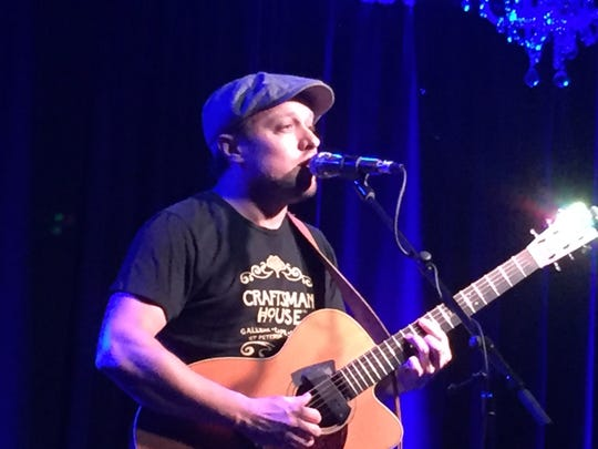 Ryan Montbleau, shown performing in Tampa, Florida on Dec. 28, 2019, plays March 13 at ArtsRiot in Burlington.