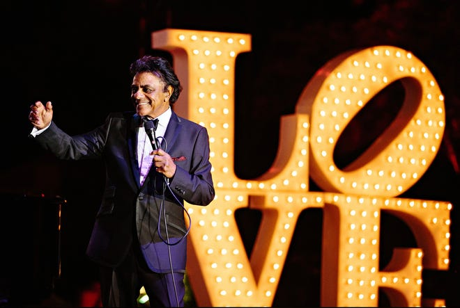 Johnny Mathis in 2015.