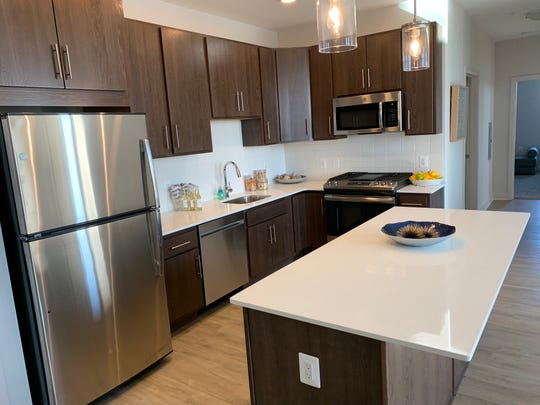 Luxe Apartments, located in a modern mixed-use building at 1 Woodbridge Center, features retail on the ground floor, office space on the second floor and 117 brand new apartment units on floors three through nine, including upgraded penthouse units on the top two floors, according to a release.
