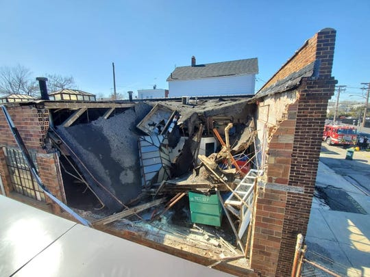This Perth Amboy building will be demolished following a roof collapse