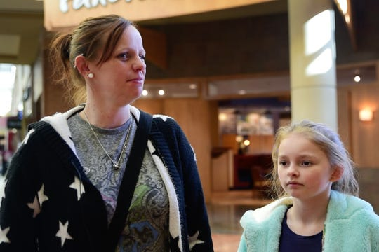 Jennifer and Caydence Bolfik on March 10, 2020. The mother and daughter frequently shop online at Kohl's and Target, where shipping costs are minimal to free. Des Moines residents' shopping and shipping habits could be changed by Bondurant's upcoming fulfillment center, which aims to bring same-day shipping to the metro.