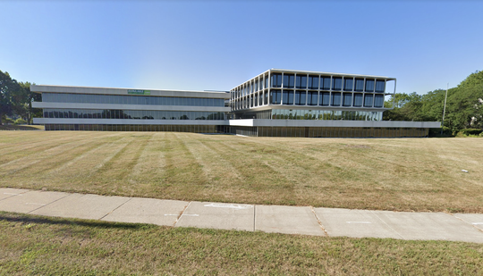 The former Federal Mogul Cooperation building located at 26555 Northwestern Highway in Southfield.