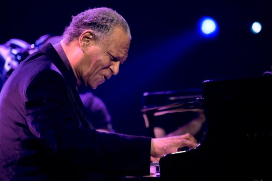 In this July 14, 2009 file photo, jazz pianist McCoy Tyner performs during the 43rd Montreux Jazz Festival in Montreux, Switzerland. The groundbreaking and influential jazz pianist and the last surviving member of the John Coltrane Quartet, has died, his family said on Friday, March 6, 2020. He was 81.