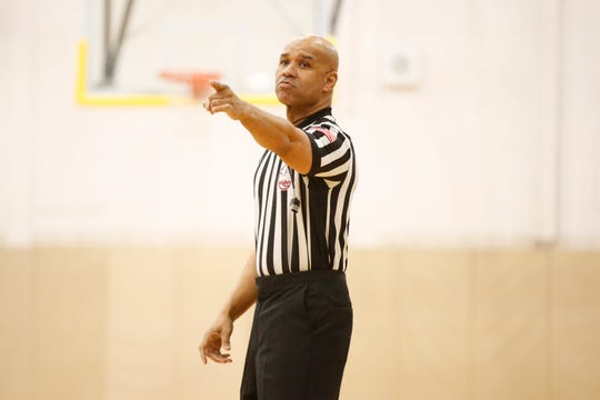 This is the 12th season as a high school basketball official for Kevin Cleveland of Farmington Hills.