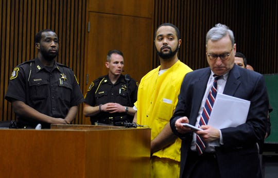 Carl Bruner, in court with his attorney James Schlaff during his sentencing in 2015, was acquitted of murder in a retrial.