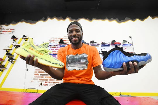Fahrenheit 313 owner Frederick Paul had just had a successful grand opening of his sneaker-exchange store on Detroit's Avenue of Fashion. Then the COVID-19 shutdown hit.