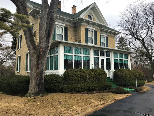 The 1870 home of Catherine Krail on Rienzi Road is slated to lose mature trees and some property when the roundabout goes in this year at the intersection of County V, Fond du Lac and National Avenues and Rienzi Road.