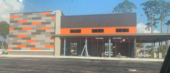 The area's first Blaze Pizza is opening soon on U.S. 41 north of Cypress Lake Drive.