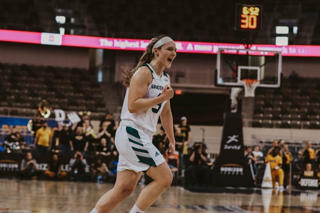UWGB guard Frankie Wurtz hit the game-winning shot to beat Northern Kentucky University in a Horizon League semifinal on Monday.