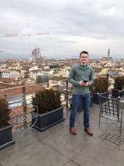 Eric Calder in Florence