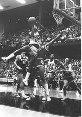 Ronnie Lester carried Iowa to a Final Four appearance in 1980. Lester played 17 games that season and averaged a team-high 14.8 points per game.
