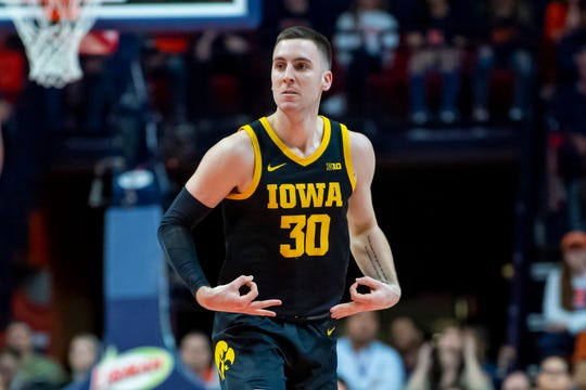 Connor McCaffery in 2019-20 was the only player in Division I college basketball with more than 120 assists and less than 30 turnovers.