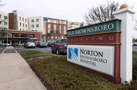 A patient with the coronavirus is being treated at Norton Brownsboro Hospital.