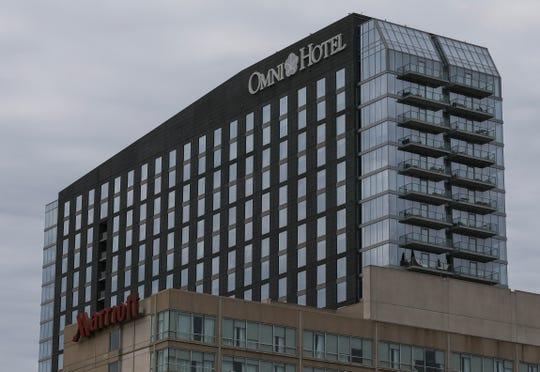 The Omni Hotel. March 9, 2020.
