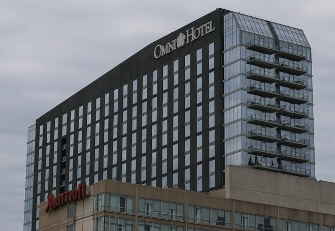 The Omni Hotel. March 9, 2020.