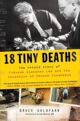 Book cover for '18 Tiny Deaths: The untold story of Frances Glessner Lee and the invention of modern forensics.'