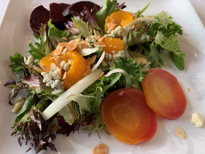 The roasted beets from Verdi's Bistro, Marco Island.