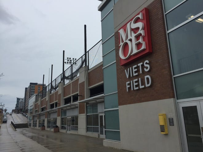 Long-vacant retail space that's on the lower level of Viets Field will be converted into programming space by Milwaukee School of Engineering.