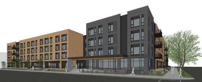 The four-story, 89-unit Thirteen31 Place Apartments is planned for the Walker's Point neighborhood.