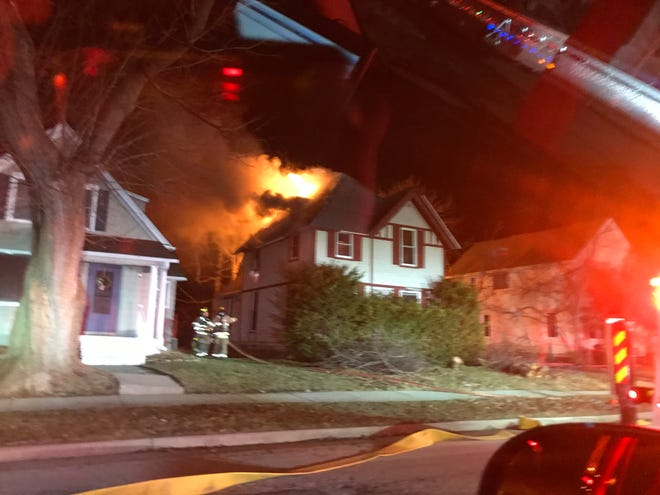 Officials are investigating the cause of a fire in the 300 block of North Greenfield Avenue, Waukesha.