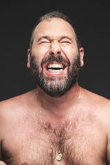 Bert Kreischer brings his shirtless comedy to the Montgomery Performing Arts Centre on Friday at 7 p.m.