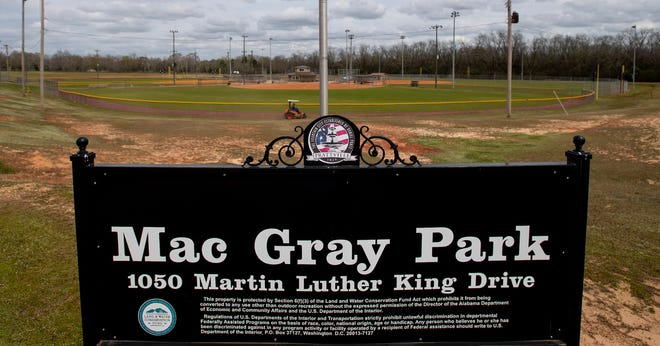 The work will add five softball fields to Mac Gray Park, located on Martin Luther King Jr. Drive, across from Prattville Junior High School. Mac Gray now has four softball fields for adult leagues.