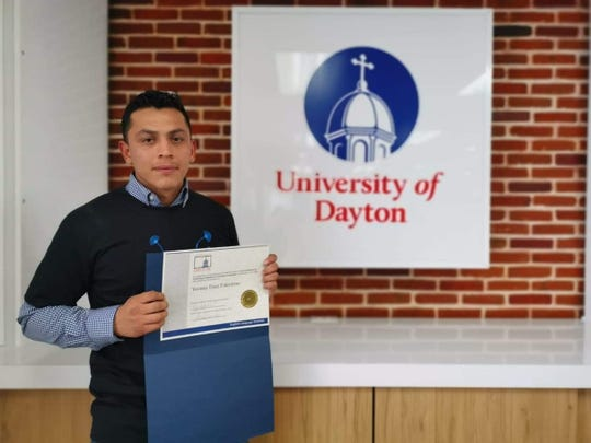 Yovany Diaz Tolentino, a former DACA recipient,  received a certificate to teach English earlier this year from the University of Dayton after taking online classes from Mexico. Diaz Tolentino decided not to renew his DACA and left Georgia in 2015.