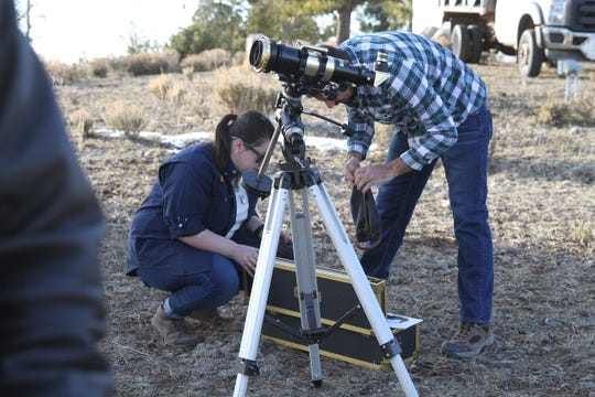Apache Point Observatory in Sunspot, NM held a rare open house in early March.