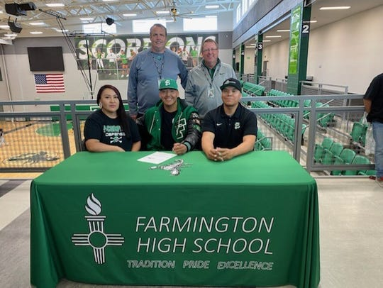 Farmington's Ronald Ladue will continue his football career at NCAA Division II Fort Lewis College.