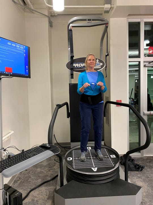 Ascension Sacred Heart's new rehabilitation center in Pensacola provides state-of-the-art equipment that includes the Zero G Gait and Balance System, a robotic body-weight support system.