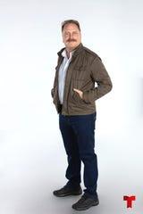 """Christian Tappan da vida al Mayor Ernesto Vargas, en la serie """"Operación Pacífico""""."""
