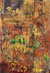 """Maria Lago's painting """"Del Molin"""" is on exhibit at The Falcon through April."""