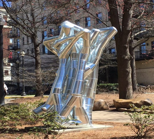 Esctatic Crepitacean by Will Vannerson is one of the 2020 SculptureWalk entries.