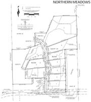 Plan for the first phase of the Northern Meadows residential development in Sartell